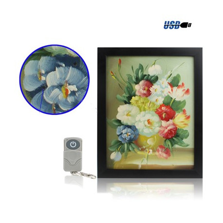 Image of   4GB malestil sikkerhed kamera med fjernbetjening (Video Opløsning: 720x480)
