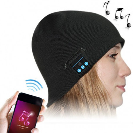 Image of   Bluetooth hovedtelefoner i varm vinter hatte for iPhone 5 & 5S / iPhone 4 & 4S og andre Bluetooth-enheder