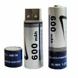 USB Batteri , 2stk