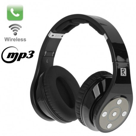 Image of   Bluedio R Sort, Bluetooth V3.0 sammenfoldelige stereo headset med mikrofon og MP3-funktion