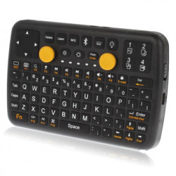 3 i 1 (Mini Qwerty tastatur + mus + gamepad) Mini Bluetooth tastaturet til iPhone 4 & 4S