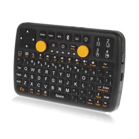 Image of   3 i 1 (Mini Qwerty tastatur + mus + gamepad) Mini Bluetooth tastaturet til iPhone 4 & 4S