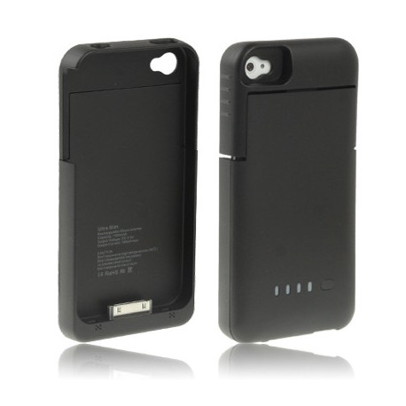 Image of   1900mAh mobil strømforsyning stationen til iPhone 4 & 4S (sort)