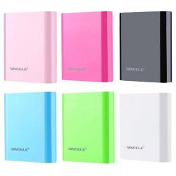 SINOELE 10000mAh Strøm Bank til iPhone / Samsung / HTC / LG / Xiaomi /