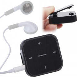 DS200 Stereo Bluetooth Hovedsæt med mikrofon til iPhone 5 / iPhone 4 & 4S / iPod (sort)