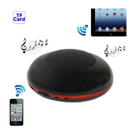 Image of   Bluetooth 2.0 Mini højttaler til New iPad (iPad 3) / iPad 2 / iPhone 4 & 4S / 3GS /