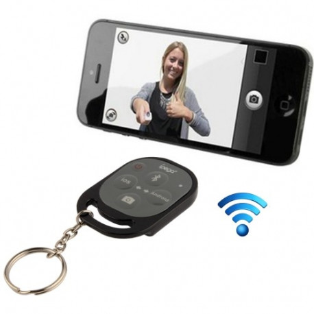 ipega Bluetooth kamera fjernbetjening frigivelse selvudløser til iPhone 5 & 5C & 5S, iPad Air / mini, Samsung Galaxy Note III