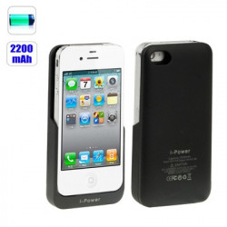 2200mAh Genopladelige mobil stationen til iPhone 4 & 4S / iPhone 4 (CDMA)