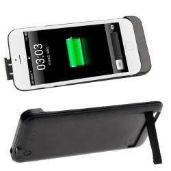 2800mAh genopladeligt ekstern sikkerhedsbatteri / strøm bank etui med holder til iPhone 6 (Black)