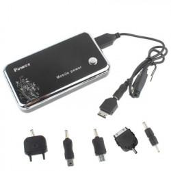 6600mA bærbar batteri til iPhone / iPad / PSP