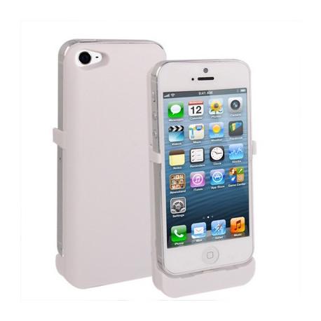 Image of   2800mAh med direkte oplad, ekstern batteri / strøm bank for iPhone 5 (hvid)