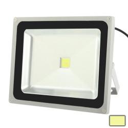 50W højstyrke, varm hvid lysdiode, oversvømmelse lampe, AC 85-265V, Lysstrøm: 4000-4500 lm