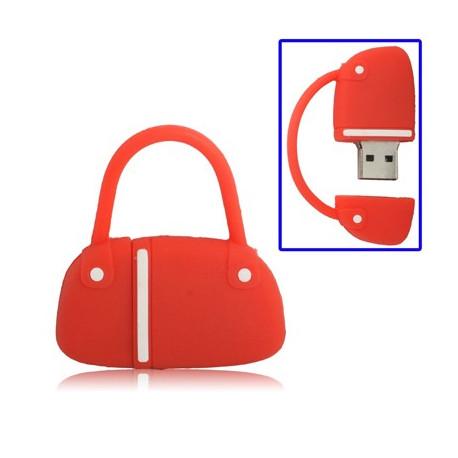 Image of   Håndtaske stil USB Flashdisk, 8GB (Rød)