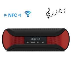 Venstar taco trådløse bluetooth højttaler til laptop / iPhone / Android-mobiltelefon, støtte NFC funktion (Rød)