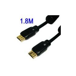 HDMI 1.3 Kabel: 3M HDMI 19-pin han til HDMI-19Pin