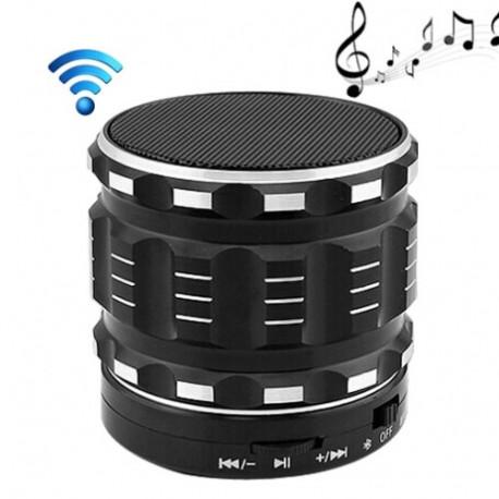 N/A S28 metalkonstruktion mobil bluetooth stereo, bærbart højttaler med håndfri opkald funktion (sort) fra olsens it aps