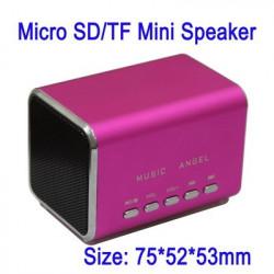 Musik Angel Mikro SD / TF Minihøjttalere JH-MD05, indbygget genopladeligt Li-ion-batteri, specielt for julegave