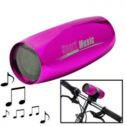 3 i 1 Multifunktion mini sport højttaler , støtte TF kort (MP3-afspiller + FM Radio + højttalere), lyserød