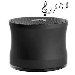 A109 Bluetooth V2.0 bærbart højttaler, super kontrabas, støtte Håndfri opkald (sort)