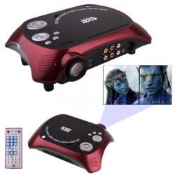 Hjemmebiograf Bærbare DVD afspiller med TV modtager funktion (PAL / NTSC / SECAM)