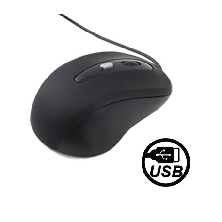 Image of   Optisk USB-mus med justerbar følsomhed