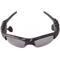 Solbriller med MP3 og FM-radio