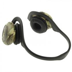 Headset med indbygget mp3-afspiller