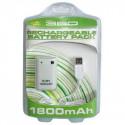 Genopladelig batteripakke til XBox 360 Controllere