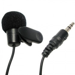 Mikrofon, m. klips til trøjen