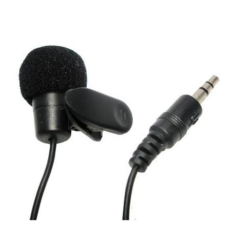Mikrofon, m. klips til trøjen fra N/A på olsens it aps