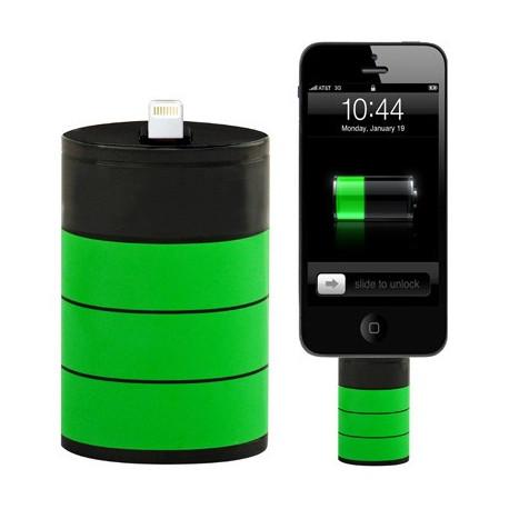 Image of   1200mAh fedt nødlys, Lithium-ion batteri, Velegnet til iPhone 5 / iPod touch 5 (sort)