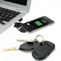 iPhone laderkabel til nøgleringen - SMART mand !