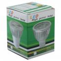 Høj kvalitets LED energi besparende spotlight pære. Fatning GU10