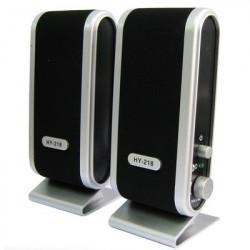 USB-port Multimedie Højttaler (sort)