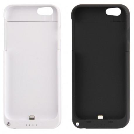 Image of   3200mAh genopladeligt ekstern batteri / strøm bank tilfældet med holder til iPhone 6 (hvid)