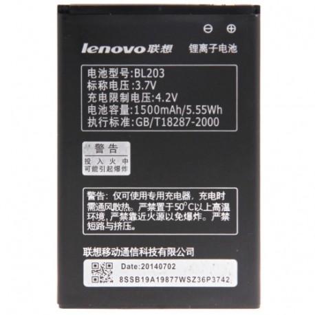 Image of   BL203 Genopladeligt Lithium - ion batteri til Lenovo A278t / A66 / A365e / A278