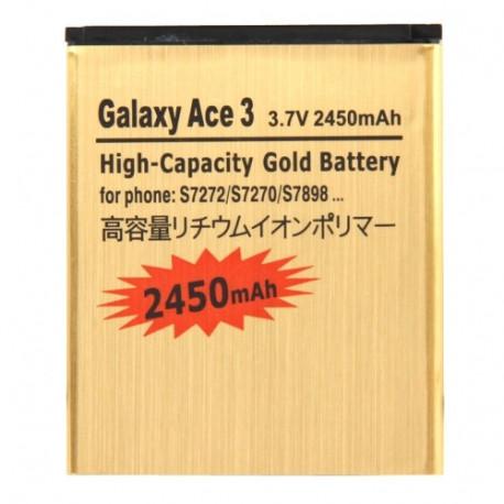 Image of   2450mAh Høj Kapacitet Forretnings Batteri til Samsung Galaxy Ace 3 / S7272 / S7270 / S7898