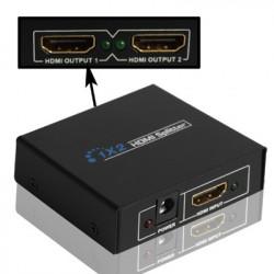 V1.3 1x2 HDMI trækløvere (sort)