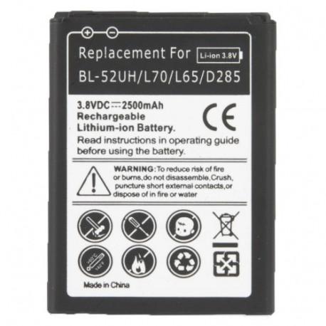 Image of   2500mAh udskiftning Mobil telefon Batteri til LG L70 / L65 / D285