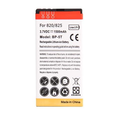 Image of   1500mAh BP - 5T Høj Capacity Forretning Batteri til Nokia Lumia 820/825