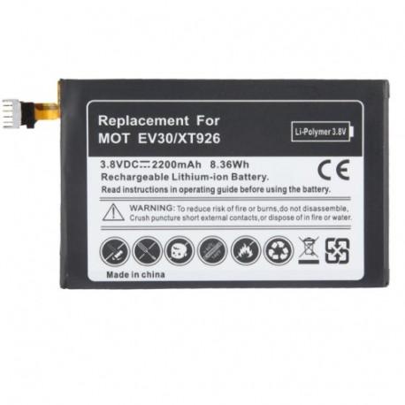 Image of   2200mAh Batteri med skruetrækker til Motorola EV 30 / XT 926