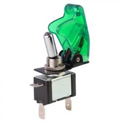 Flip Cover Nitrous tilkobling Skift med Grøn LED indikator (Køretøj DIY ) , Grøn