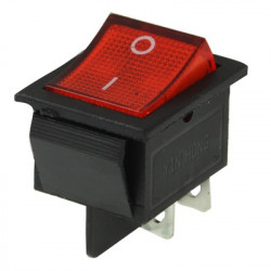 DIY Red Light OFF -ON Vippeafbryder for Racing Sport ( 5 pcs i en pakning, er prisen for 5 pcs )