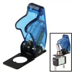 4 x DIY Gennemsigtig Blå Sikkerhed Flip Cover til Toggle Switch, Pakke med 4