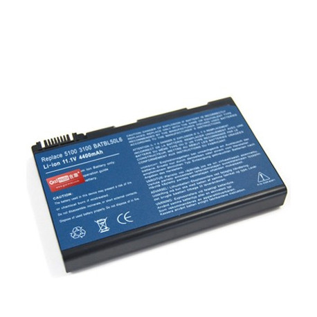 Image of   4400mAh 6 cellers batteri til ACER 50L6