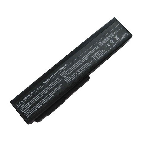 Image of   4400mAh 6 cellers batteri til ASUS M50