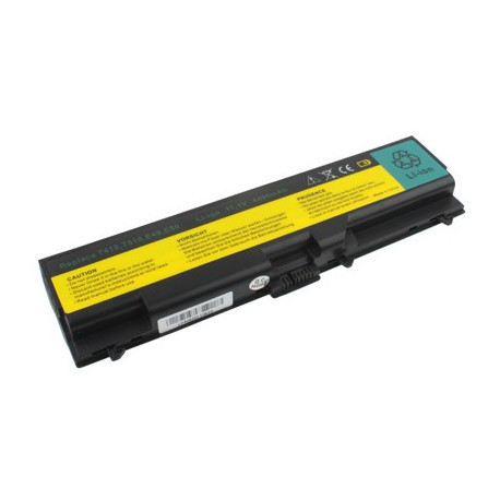Image of   4400mAh 6 cellers batteri til IBM ThinkPad T410 / T510 / E40 / E50 / W510