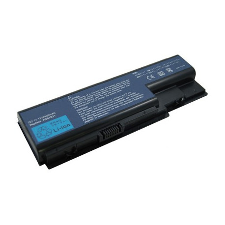 Image of   4400mAh 6 cellers batteri til ACER 5520