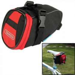 Roswheel Skalerbar Bicycle Tail Bag (Rød)