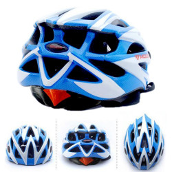 Moon Brand Letvægts Cykel Cycling Helmet / All-in-One Mountain Bike Helmet (Baby blå + hvid)